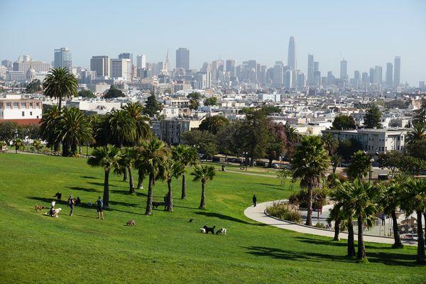 Mision Dolores Park - San Francisco
