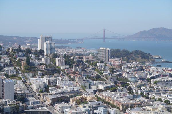 Mirador de San Francisco - Consejos para viajar a EEUU