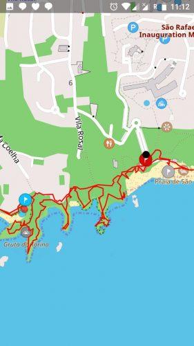 Escapada al Algarve - Mapa