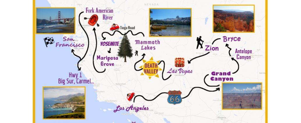3 semanas de Road Trip por la Costa Oeste de Estados Unidos