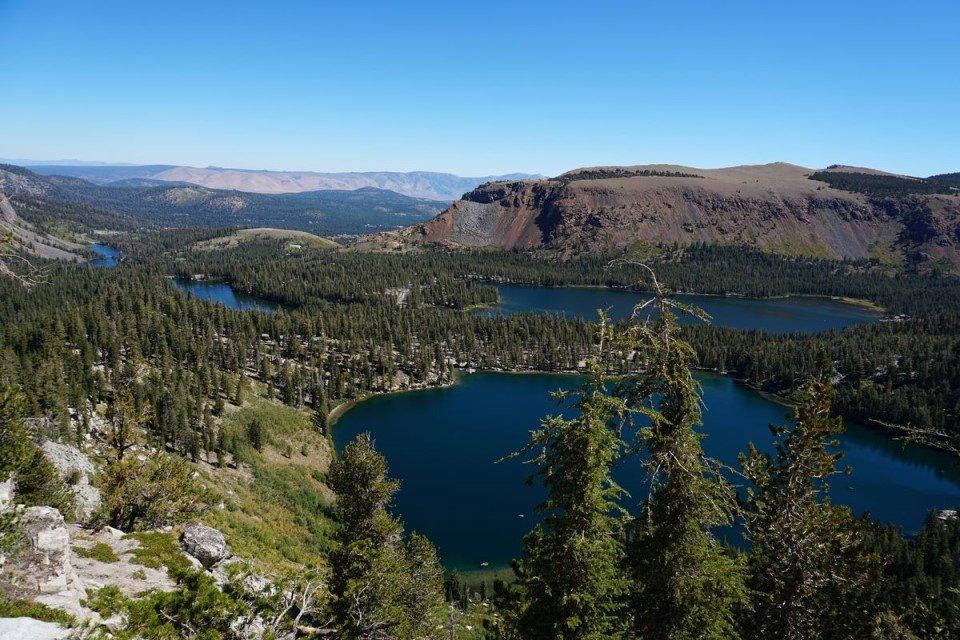 A vista de pájaro | Mammoth Lakes
