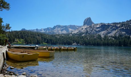 Rutas en Mammoth Lakes California
