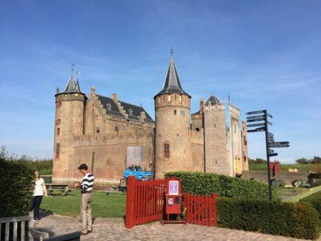 Muiderslot Castle, Muiden - Netherlands | | Ruta en bici, Castillo de Muiderslot y fuertes
