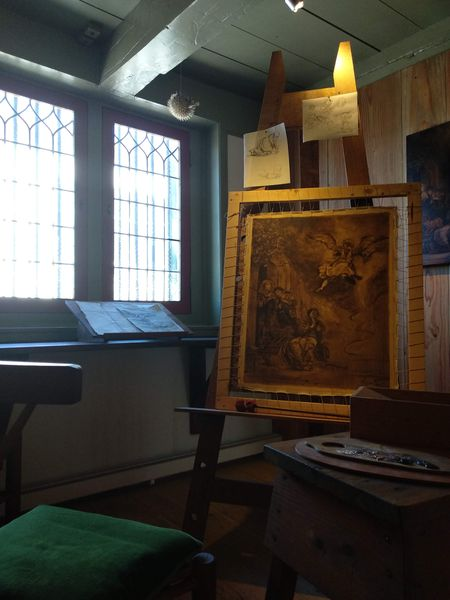 Studio, Rembrandt House | 5 Important museums in Amsterdam