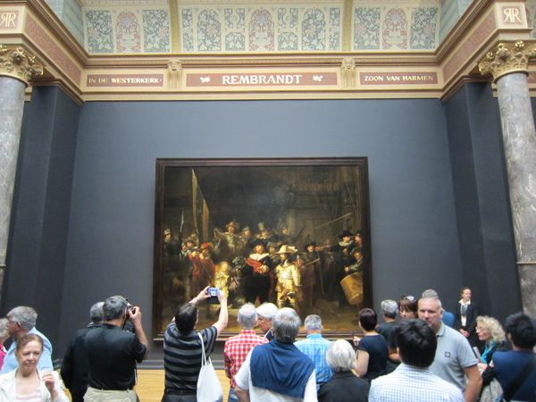 The Night Watch - La ronda de noche, Rembrandt | 5 Museos importantes de Amsterdam