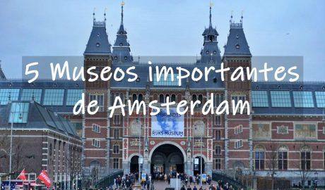 5 Museos importantes de Amsterdam