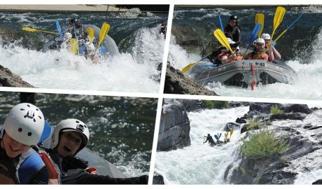 Rafting en California