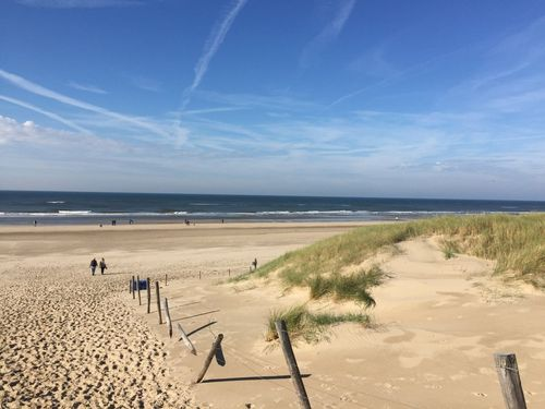 Beach at Bergen - Netherlands
