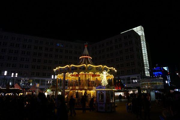 Tiovivo | Mercado de Navidad en Berlin