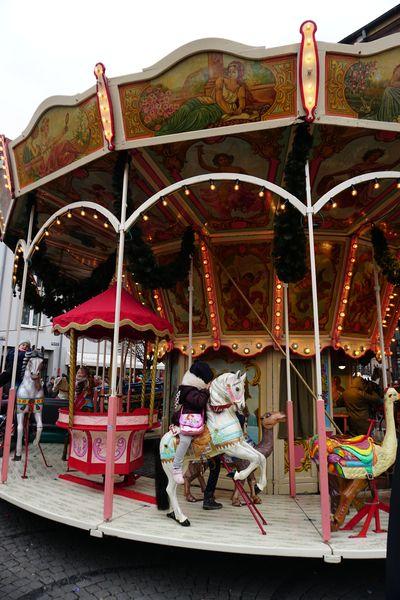 Carrusel | Mercados de Navidad en Düsseldorf
