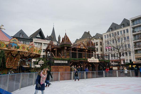 Pista de hielo en Colonia | Mercados de Navidad