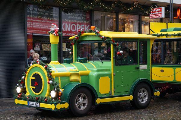 Trenecito de Navidad en Colonia