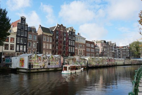 Parte de atrás de Bloemenmarkt | Que no hacer en Amsterdam