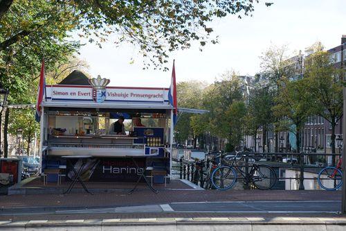 Puesto de Haring | Qué hacer en Amsterdam