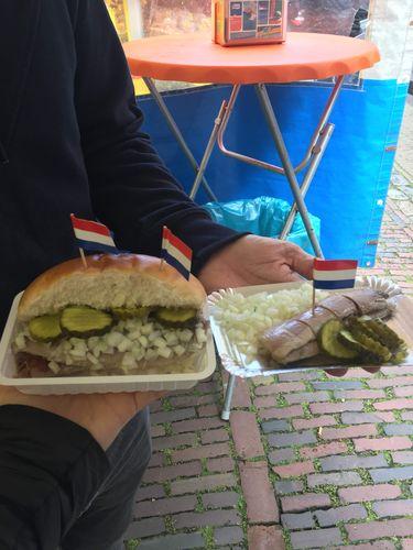 Haring | Qué comer en Amsterdam