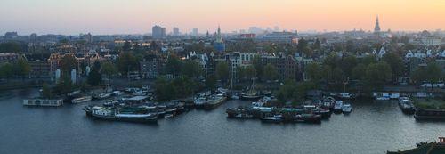 Vistas desde la OBA | Que no hacer en Amsterdam