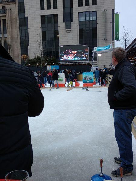 Curling | Mercado Navidad Düsseldorf