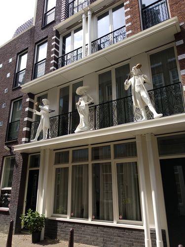 Casa adornada del Jordaan