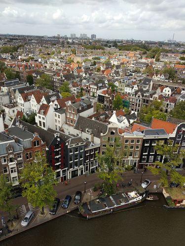 Vistas desde la torre de la Westerkerk | Miradores de Amsterdam