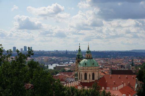 Vistas desde el Castillo de Praga | Pagar en Praga en euros