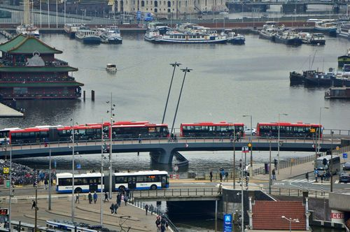 Autobús GBV y autobuses EBS (R-NET) | Tarjetas de transporte en Amsterdam