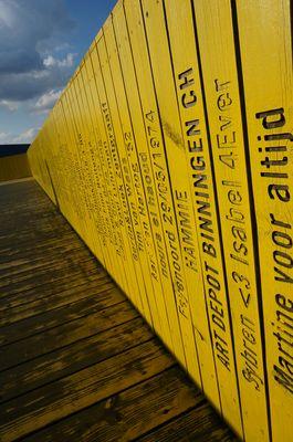 Puente amarillo Rotterdam