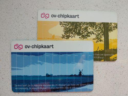 Tarjetas OV-chipkaart